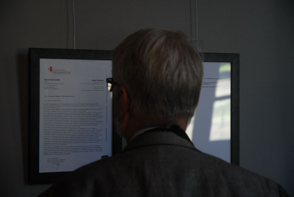 Photographie Thierry Boutonnier Visite de site Exposition Salons Commissariat : COAL 2012