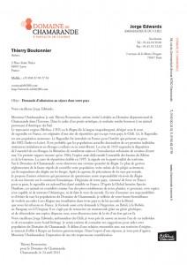 Lettres aux Ambassadeurs