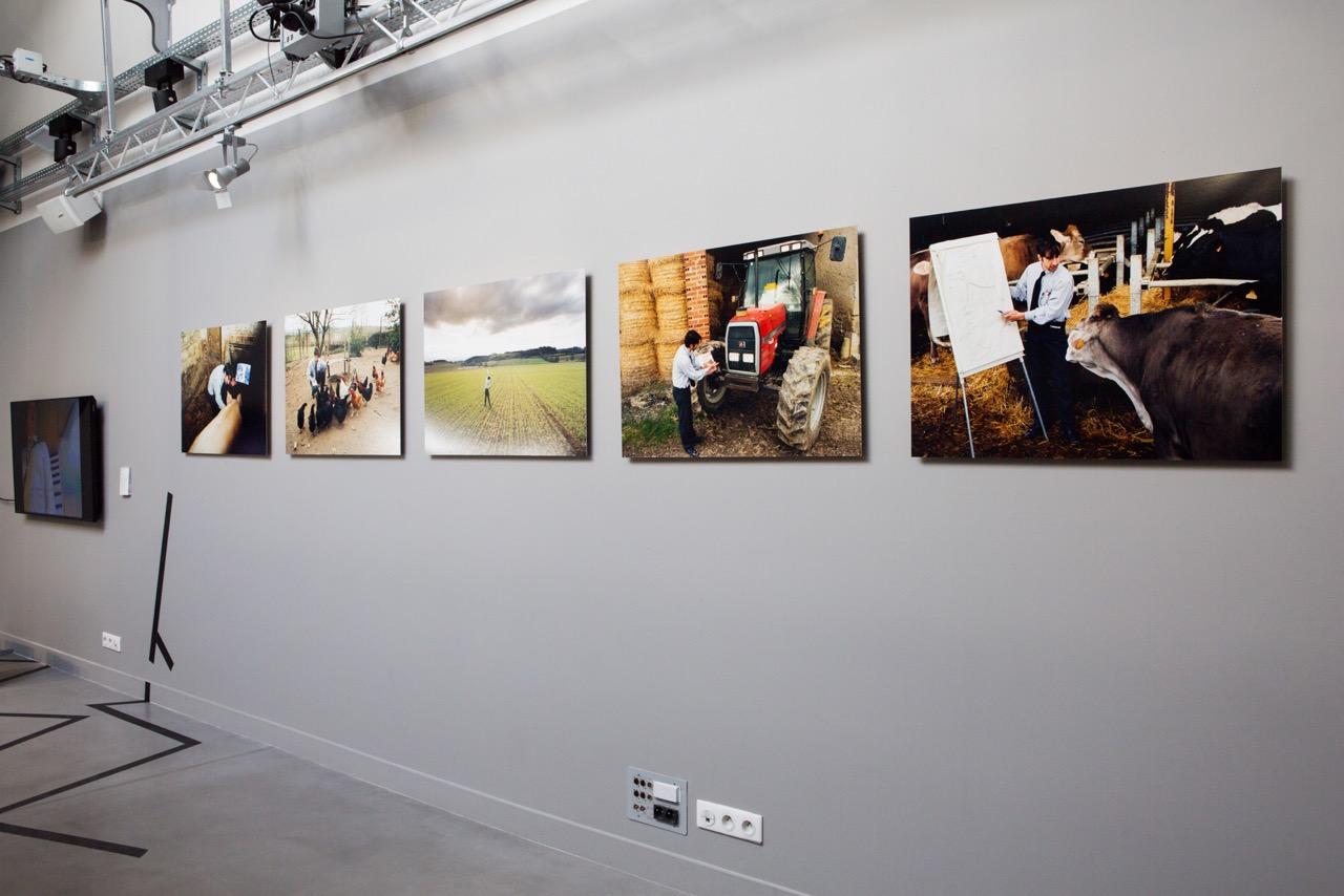 Les objectifs de production - Actions et photographies - 2005 Les Bessous