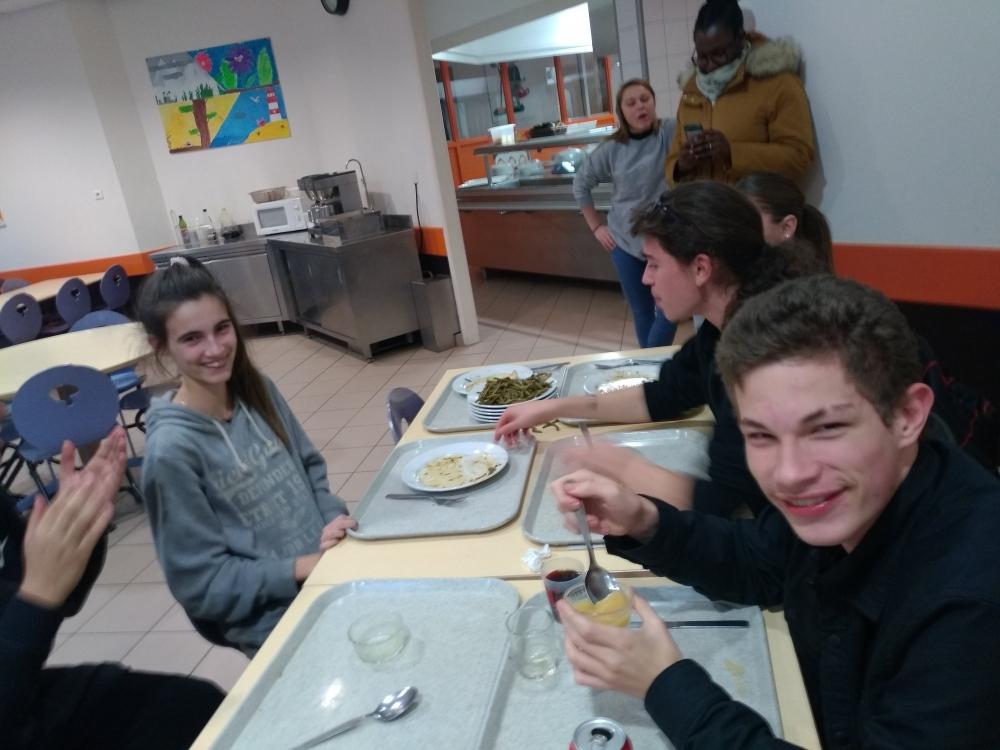 Enquête des élèves à propos de leur environnement alimentaire.