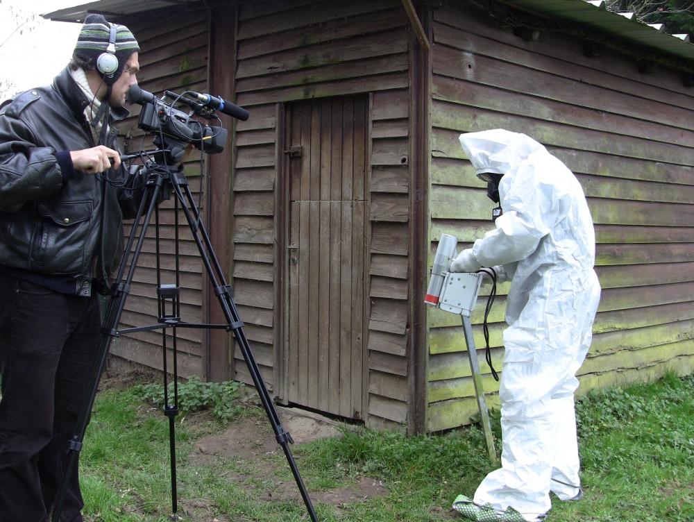 Même l'autruche sera protégée, scène de l'exercice, Eva Galtier - 2012