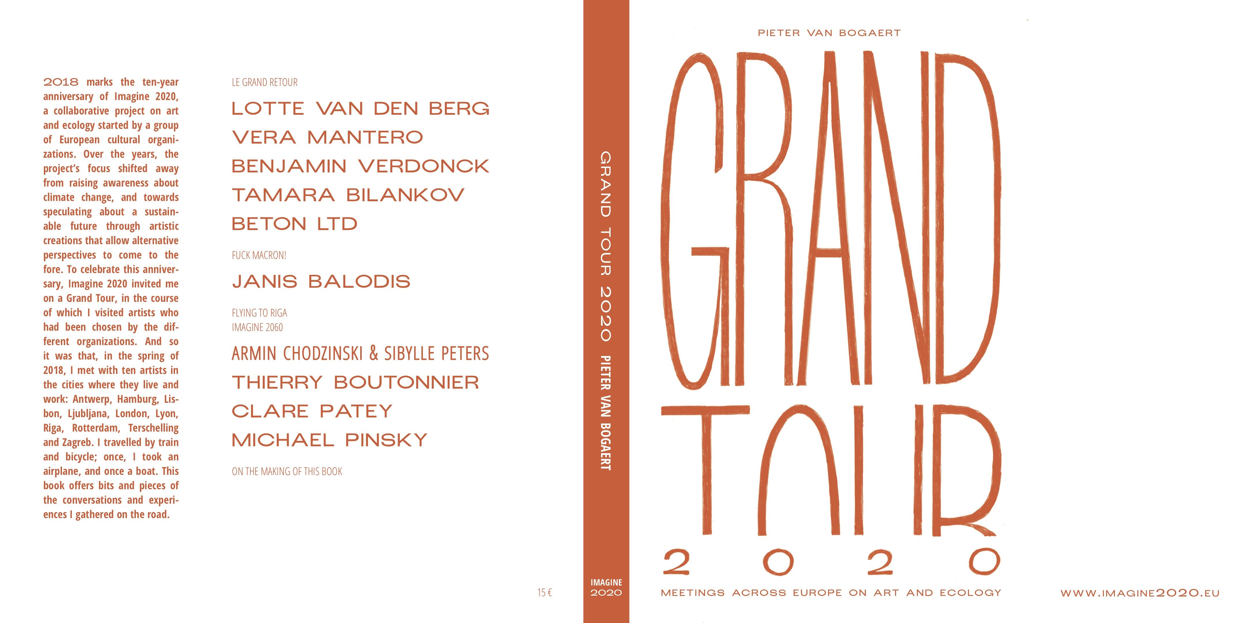Grand tour 2020 Pieter Van Bogaert publié 25 novembre 2018