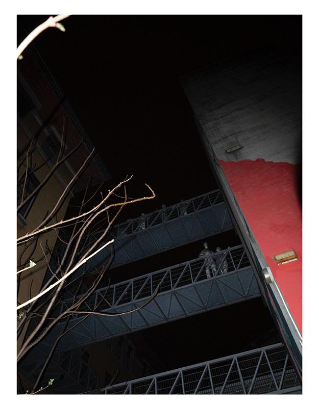 Photographie de Vincent Bergeron, Mars 2020, Villeurbanne.