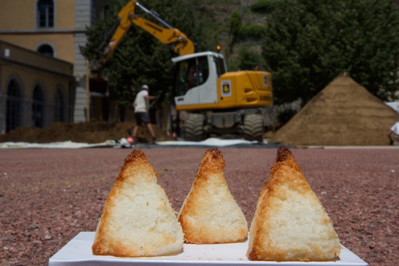 Pyramides coco, photographie de Thierry Boutonnier, 27 juillet 2020.